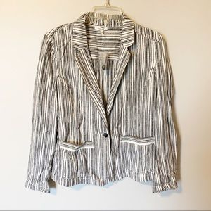 Maurices | linen dress blazer size M. New with tag